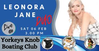 Leonora Jane DUO @ Yorkeys Knob Boating Club