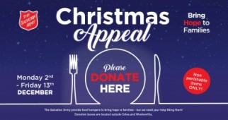 Christmas Appeal - Mt Sheridan Plaza & Salvation Army