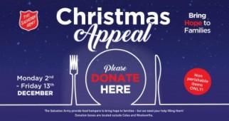 Christmas Appeal - Mt Sheridan Plaza & Salvation Army