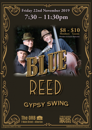 Blue Reed - Gypsy Swing