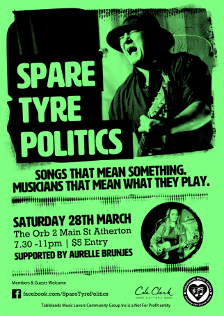CANCELLED - Spare Tyre Politics
