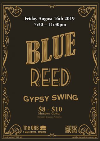 Blue Reed - Gypsy Swing