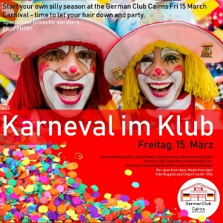Karneval im Klub / Carnival time in the club
