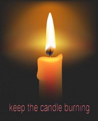 Keep the Candle Burning!