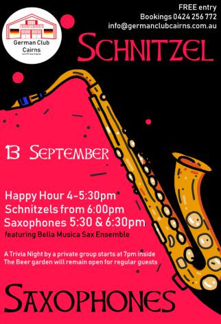 Scnitzel and Saxophones