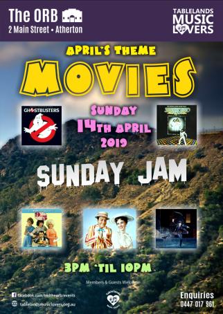 Sunday Jam - Theme night: Movies