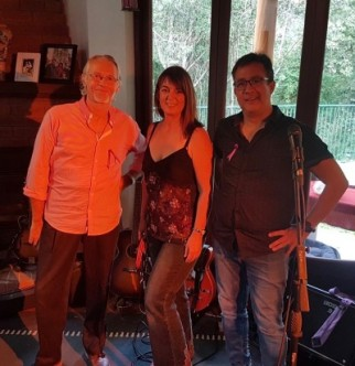 Jeanette Wormald Trio at the Tanks Markets