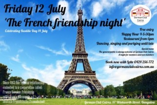 French German Friendship Party!