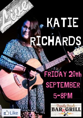 Katie Richards live at Trinity Beach bar n grill