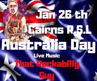 That Rockabilly Guy @ Cairns RSL Club