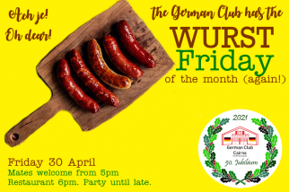 Oh je! The Wurst Fryday of the month (again!)