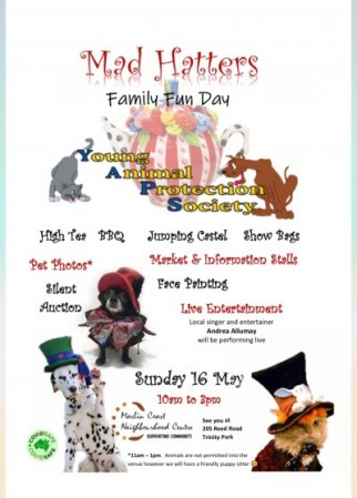 YAPS MAD HATTERS FAMILY FUN DAY/ HIGH TEA