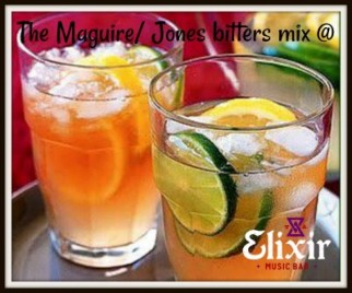 The Maguire/ Jones bitters mix
