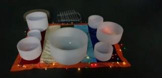 Crystal Singing Bowls Chakra Meditation