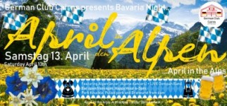 April in den Alpen / April in the Alps: with the Alpine Dancers and LIVE Oompah music