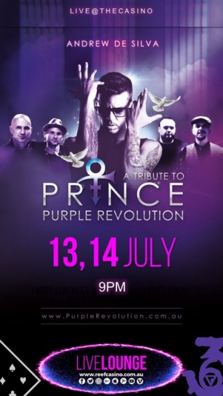 PURPLE REVOLUTION TRIBUTE TO PRINCE LIVE@THECASINO