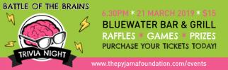 The Pyjama Foundation Cairns Battle of the Brains Trivia