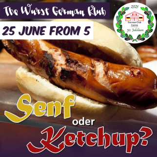 The Wurst German Klub night of the month