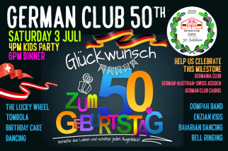 German Club Cairns 50th Birthday party: A community event