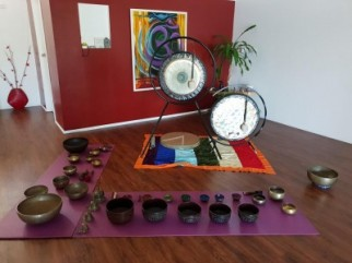 Gongs and Tibetan Singing Bowl Meditation