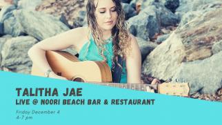 Talitha Jae live at Noori Beach Bar and Restaurant