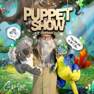 White Wizard Puppet Show