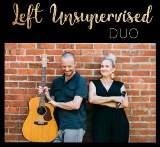 Left Unsupervised Duo at Paper Crane restaurant