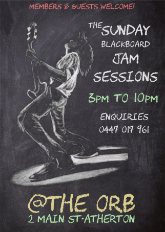 Sunday Blackboard Jam Session