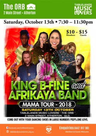 King B-Fine & The Afrikaya Band