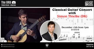 Simon Thielke - Classical Guitar Concert