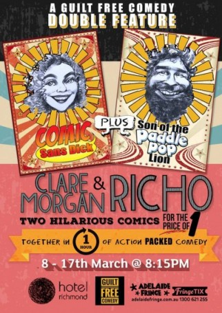 Clare & Richo - Fringe Roadshow {Comedy