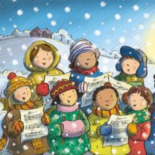 Christmas Carol Singers Figurines.Christmas Carol Singers At Mt Sheridan Plaza Entertainment