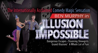 Staring Internationally Acclaimed Comedy Magician-Ben Murphy