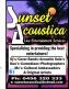 Sunset Acoustica Live Entertainment Services